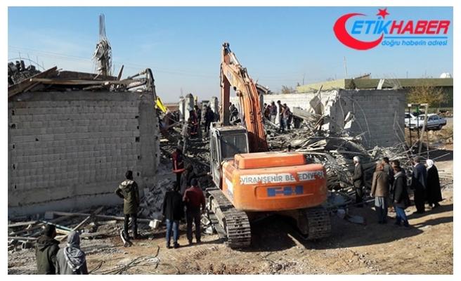 Şanlıurfa'da inşaat çöktü