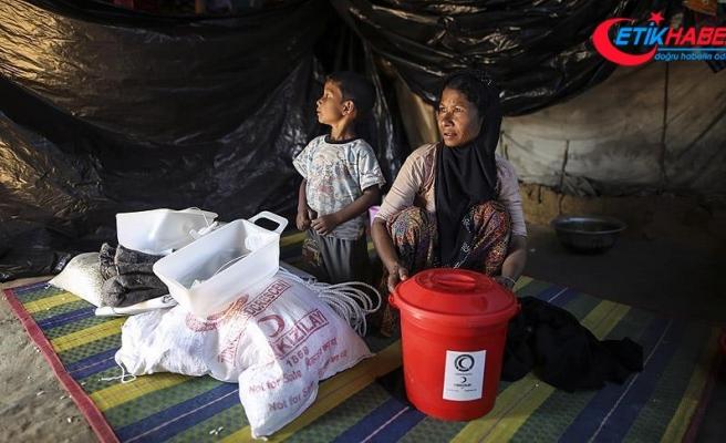 Türk Kızılayı Arakanlı Müslümanların yardım çığlığına kulak verdi