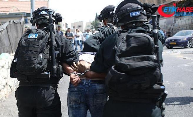 2017'de 3 bin 617 Filistinli gözaltına alındı