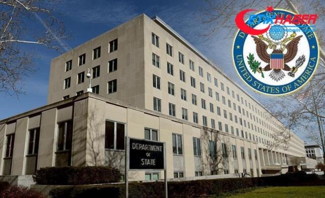 ABD Dışişleri Bakanlığı'ndan Zeytin Dalı Harekatı açıklaması