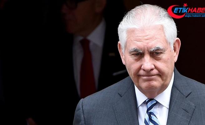ABD Dışişleri Bakanı Tillerson: Katar ve Körfez ülkelerindeki gerginlik ABD'yi etkiledi