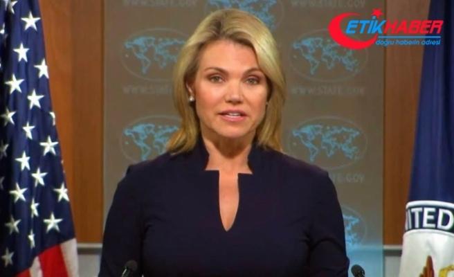 """ABD Dışişleri Bakanlığı Sözcüsü Nauert:  Rusya İki NATO müttefikinin arasını açmaya çalışıyor"""""""