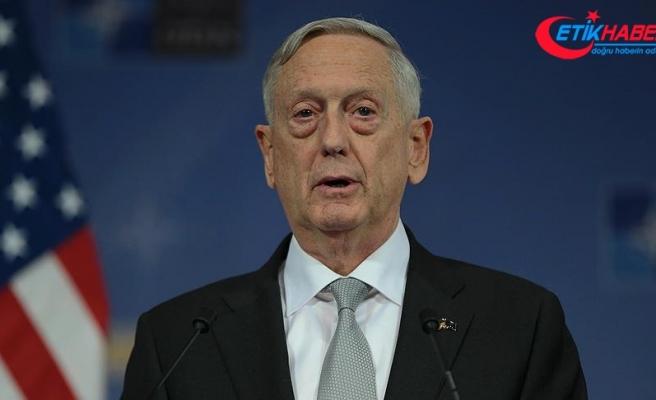 ABD Savunma Bakanı Mattis'ten 'Pakistan' açıklaması