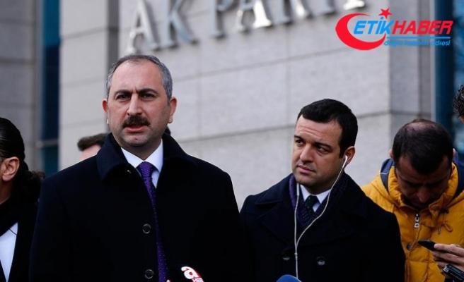 Adalet Bakanı Gül: Çalışmamızı çok geniş perspektifte yapacağız