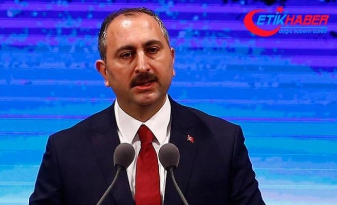 Adalet Bakanı Gül: Amaç bölgede huzuru sağlamak