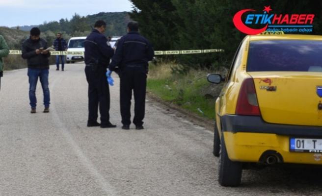 Adana'da taksici boğazı kesilerek öldürüldü