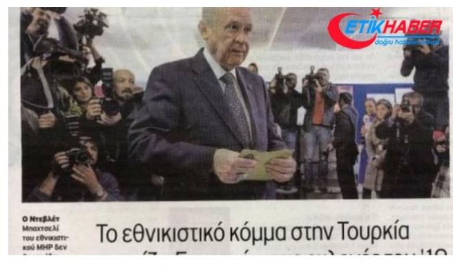 AK Parti-MHP İttifakı Yunan Basınını Rahatsız Etti