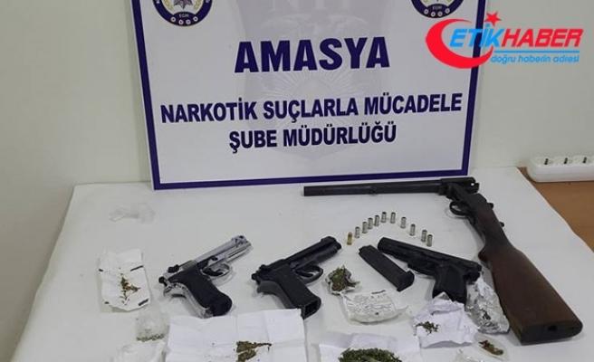 Amasya merkezli uyuşturucu operasyonu: 10 gözaltı