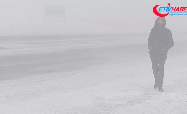 Ardahan'da hava sıcaklığı sıfırın altında 19 dereceyi gördü