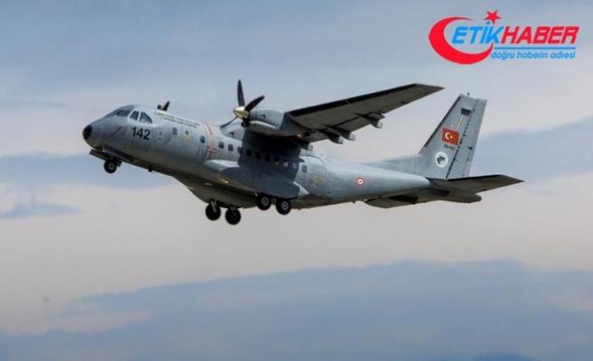 Askeri uçak düştü: 3 şehit