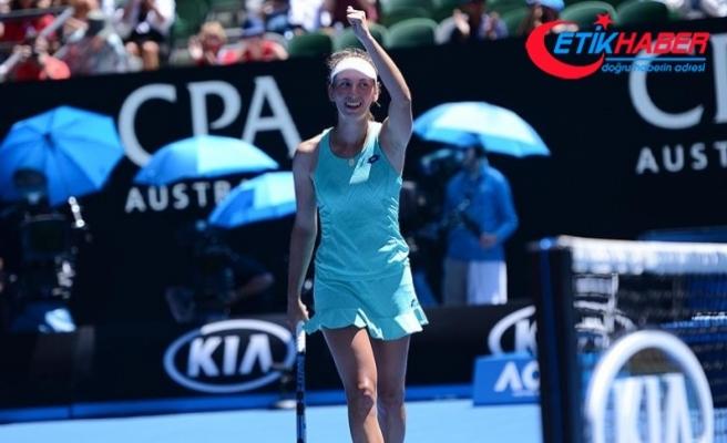 Avustralya Açık'ta Elise Mertens yarı finalde