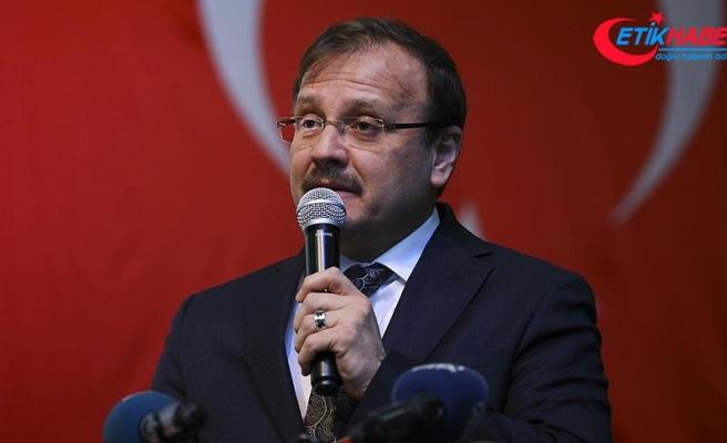 Başbakan Yardımcısı Çavuşoğlu'ndan anamuhalefete 'kadın' eleştirisi