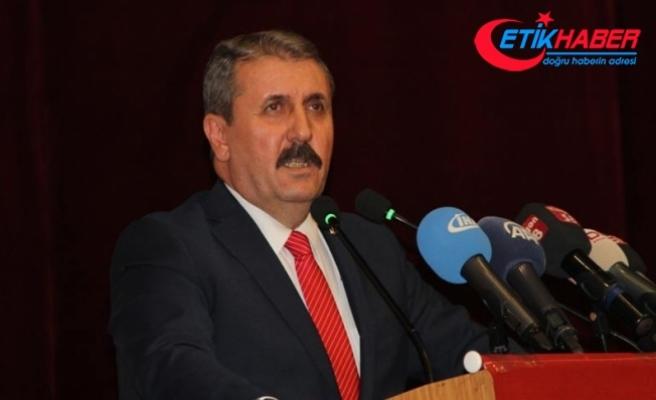 BBP Genel Başkanı Destici: BBP sistemin alternatifi olarak kuruldu