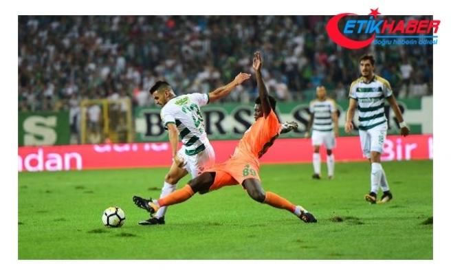 Süper Lig'de son 6 haftanın en kötüsü Bursaspor oldu