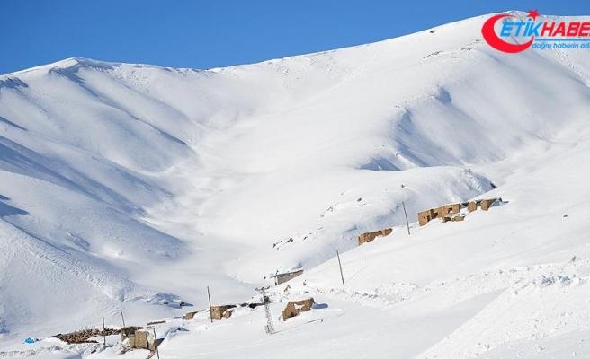 Doğu'da kar, 821 köy ve mahallenin yolunu kapattı