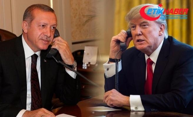 Cumhurbaşkanı Erdoğan, ABD Başkanı Trump ile telefonla görüştü