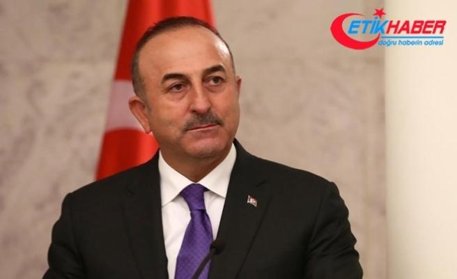 Çavuşoğlu: YPG/PKK'ya yönelik alacağımız tedbirler sadece Afrin'le sınırlı olamaz