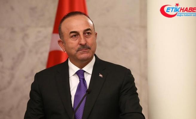 Çavuşoğlu, TBMM Dışişleri Komisyonuna sunum yaptı