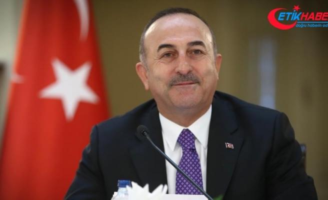 Dışişleri Bakanı Çavuşoğlu: Almanya'nın PKK'ya karşı attığı son adımlardan memnunuz