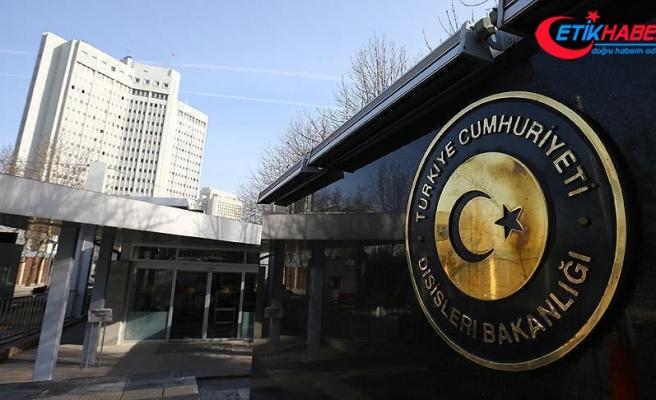 Rusya ve İran büyükelçileri Dışişleri Bakanlığına çağrıldı