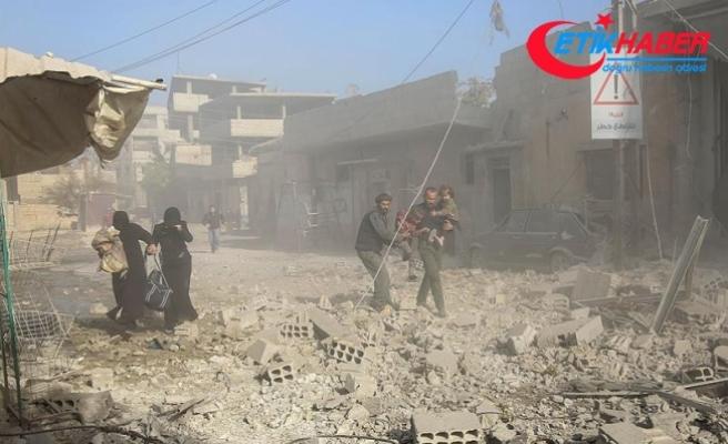 Doğu Guta'daki saldırılarda 44 sivil hayatını kaybetti