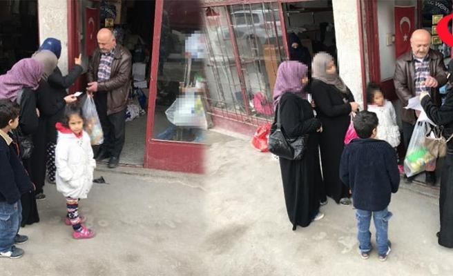 Emeklinin 'Umut Hayır Mağazası'ndan 3 bin aileye yardım