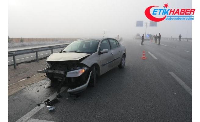 Emniyet Müdür Yardımcısı kazada yaralandı