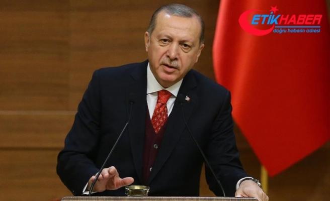 Erdoğan: Bölgemizde derenin taşıyla derenin kuşunu vurma oyununu bozduk