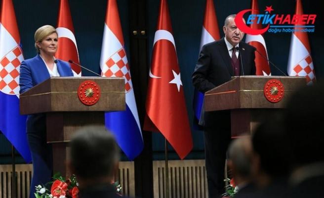 Erdoğan: FETÖ'nün Balkanlardan kökünün kazınması için çalışmalarımızı sürdüreceğiz