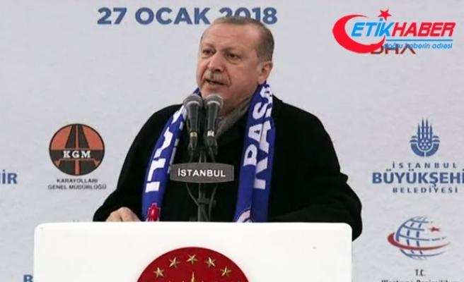 Erdoğan: Ülkeye hala silah yığılmaya devam ediliyor