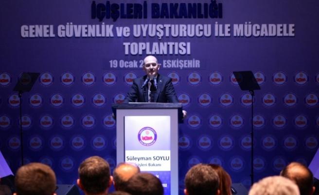 İçişleri Bakanı Soylu: Avrupa, sentetik uyuşturucu imal ediyor