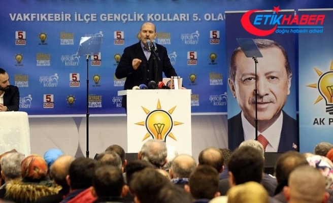 İçişleri Bakanı Soylu: İnancımız odur ki bizler doğru taraftayız