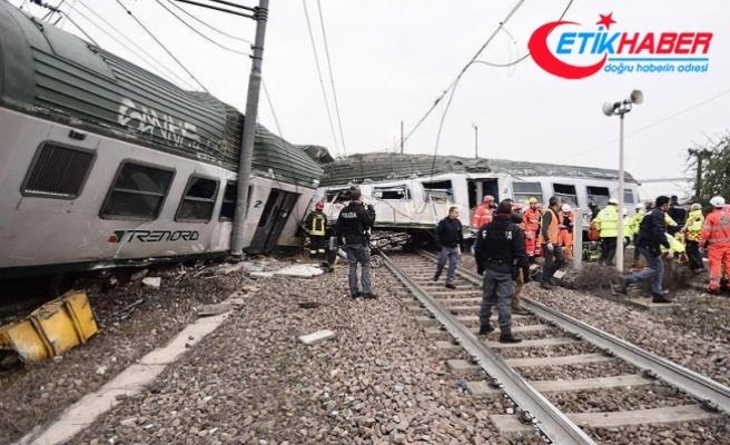 İtalya'da tren kazası: 2 ölü, 100 yaralı