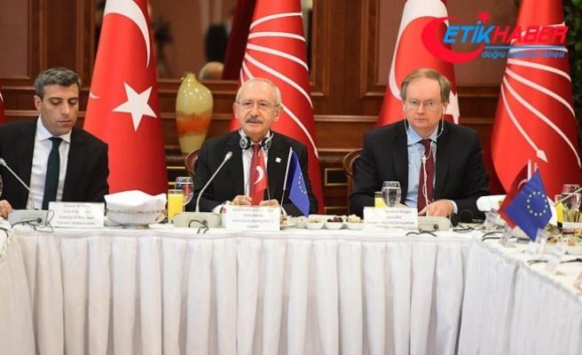 Kılıçdaroğlu, AB ülkelerinin büyükelçileriyle buluştu