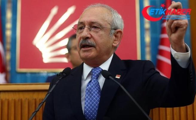 Kılıçdaroğlu: FETÖ ile değil muhalefetle mücadele ediyorlar