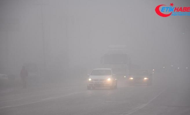 Meteorolojiden sis ve pus uyarısı