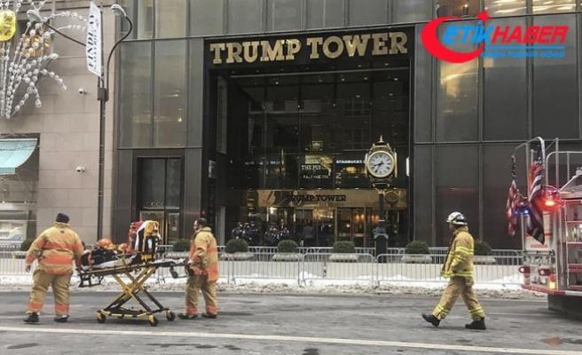 New York'taki Trump Tower'da yangın çıktı