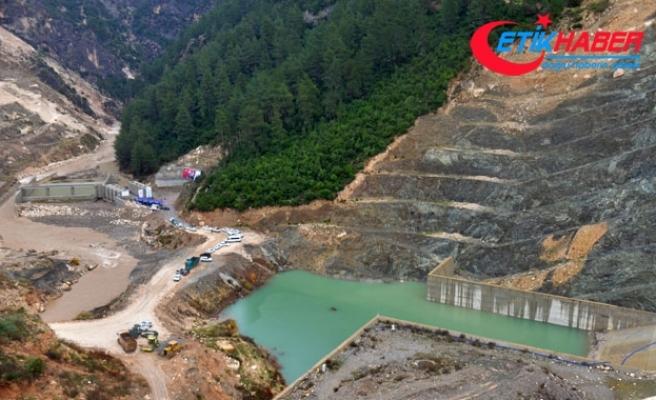 Pamukluk Barajı iletim tüneli törenle açıldı