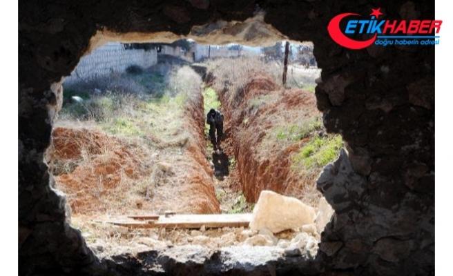 PYD/PKK'nın yerin 4 metre altındaki tünel ağı bulundu