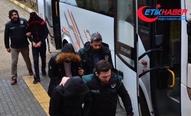 Samsun'da uyuşturucu ticaretine 11 tutuklama