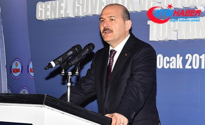 Süleyman Soylu: 2017'de FETÖ'den 48 bin 305 kişi tutuklandı