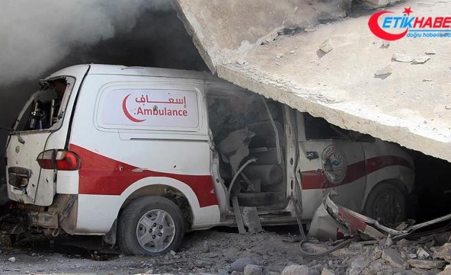 Suriye'de hayat kurtaran 112 kişi öldürüldü