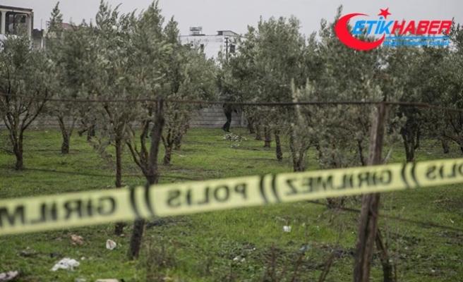 Terör örgütü PYD/PKK tarafından Hassa'ya 2 roket atıldı