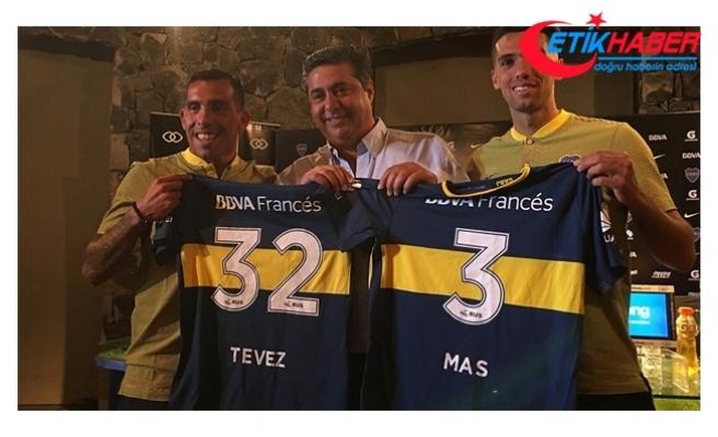 Tevez ve Mas imzayı attı