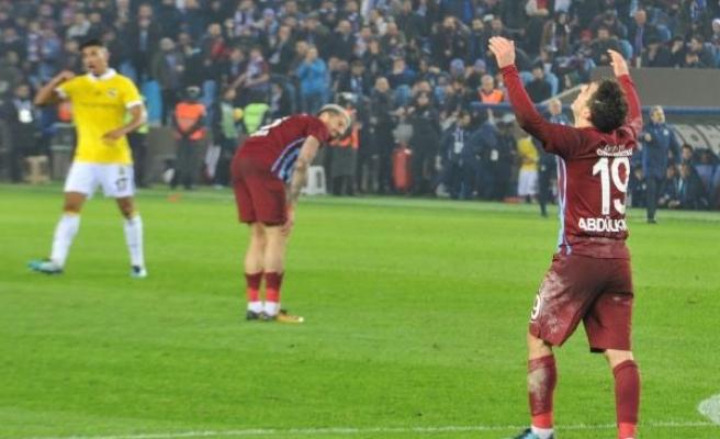 Trabzonspor'da galibiyet hasreti 5 maça çıktı