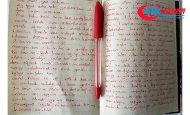 'Yine ihanet, yine entrika' başlıklı mektup bırakıp, intihar etti