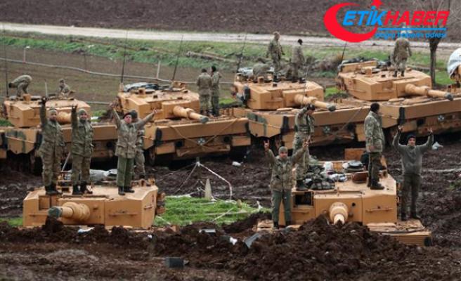 Zeytin Dalı Harekatı'ndaki Mehmetçik'ten mesaj