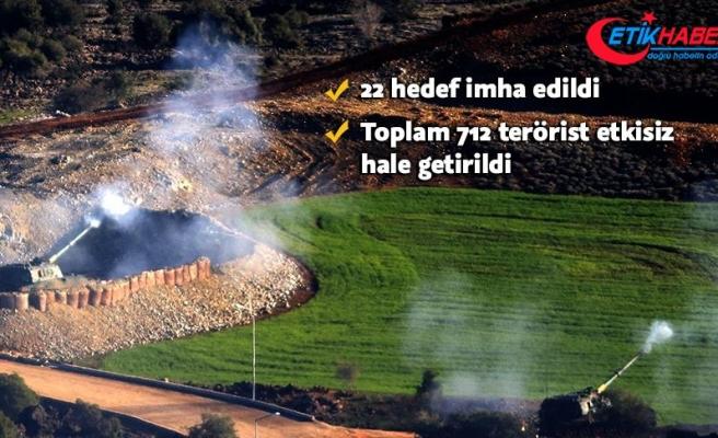 Zeytin Dalı Harekatı'nda 712 terörist etkisiz hale getirildi