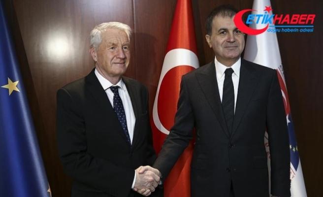 AB Bakanı Çelik ile Jagland bir araya geldi