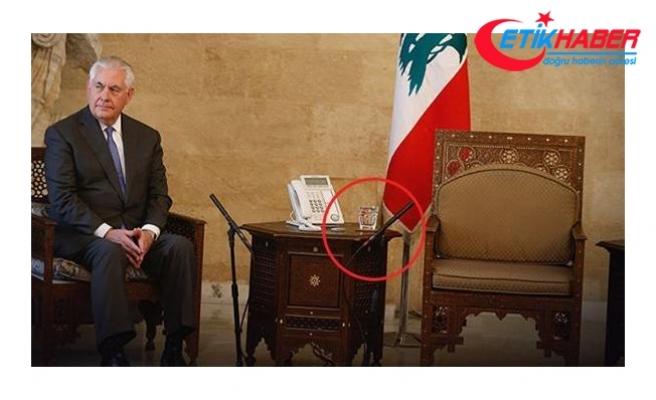 ABD Dışişleri Bakanı boş odada dakikalarca bekledi